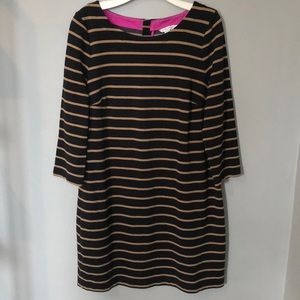 Boden Striped Cotton Shift Dress